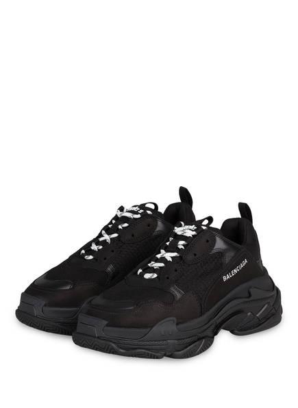 BALENCIAGA Sneaker TRIPLE S, Farbe: SCHWARZ (Bild 1)