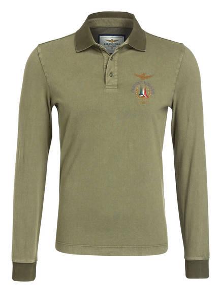 AERONAUTICA MILITARE Poloshirt, Farbe: OLIV (Bild 1)