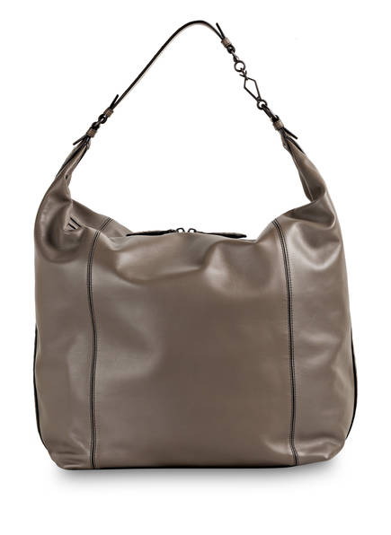 BOTTEGA VENETA Hobo-Bag MILANO LARGE , Farbe: STEEL NEW (Bild 1)