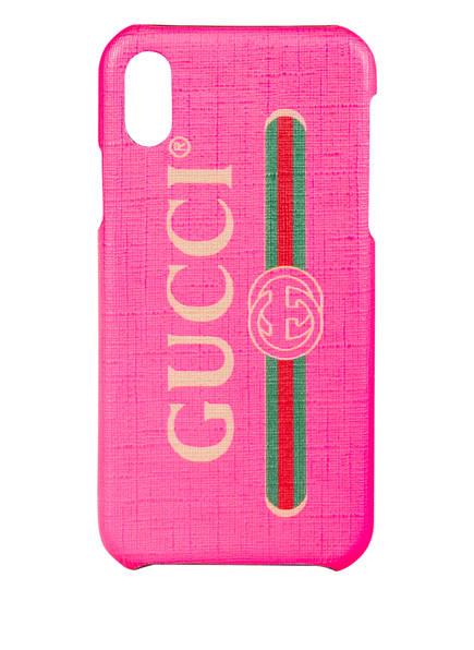 GUCCI iPhone-Hülle , Farbe: FUCHSIA FLUO PINK (Bild 1)
