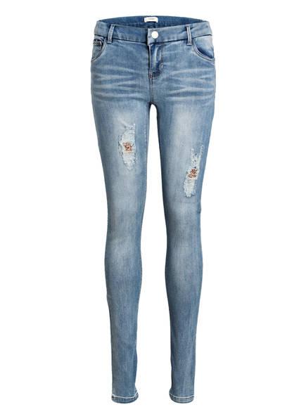 name it Jeans Skinny Fit, Farbe: MEDIUM BLUE DENIM (Bild 1)