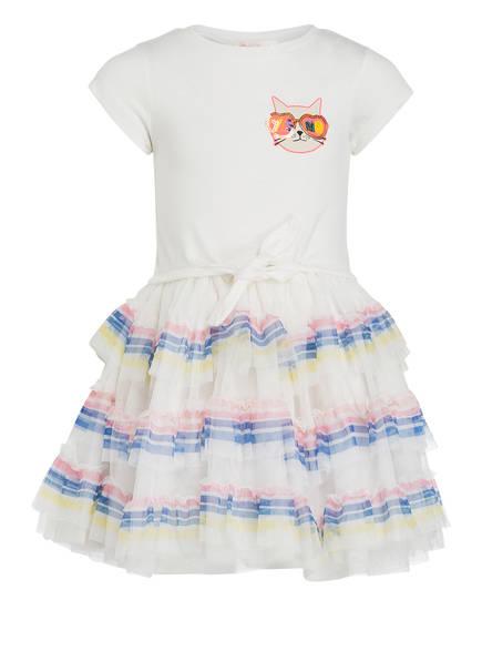 Billieblush Kleid mit Paillettenbesatz, Farbe: ECRU (Bild 1)