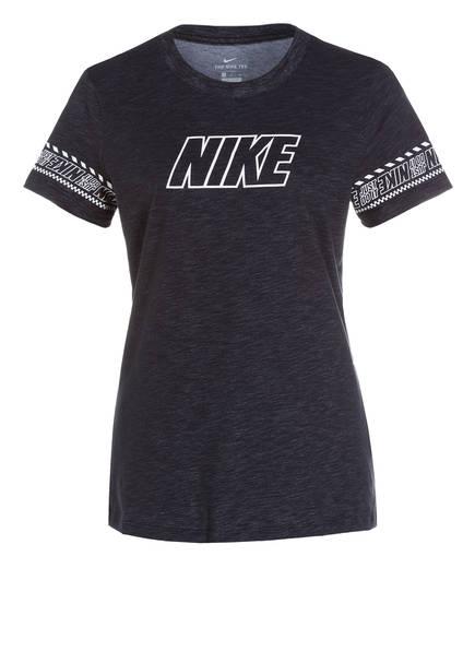 Nike T-Shirt , Farbe: SCHWARZ MELIERT (Bild 1)