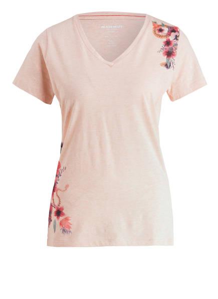 MAMMUT T-Shirt ZEPHIRA, Farbe: HELLROSA MELIERT (Bild 1)