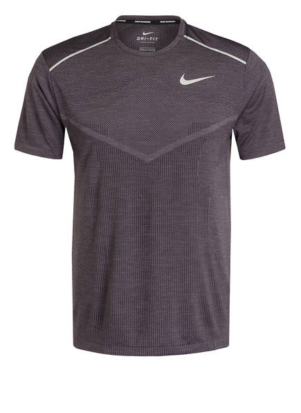 Nike Laufshirt TECHKNIT ULTRA, Farbe: GRAU (Bild 1)