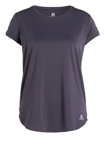 SALOMON T-Shirt COMET BREEZE, Farbe: GRAPHITE (Bild 1)