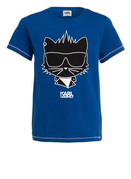 KARL LAGERFELD KIDS T-Shirt, Farbe: BLAU (Bild 1)