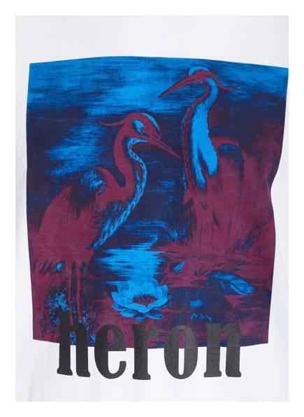Heron Oversized shirt Weiss Heron Preston Preston 5qwzU0n