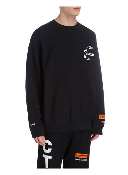 Heron Schwarz Heron sweatshirt Preston Oversized Preston YZBqwPw