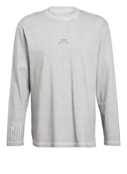 A-COLD-WALL* Langarmshirt, Farbe: HELLGRAU MELIERT (Bild 1)