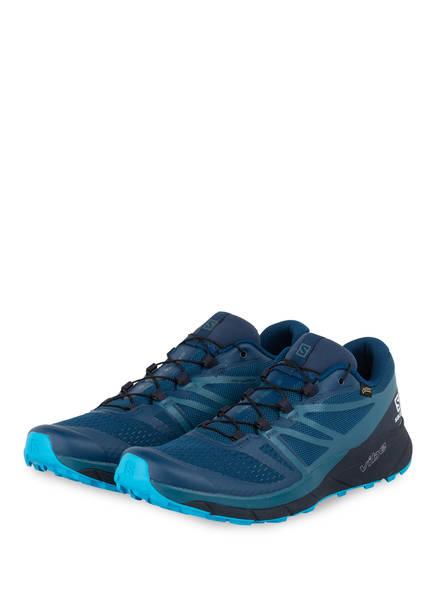 SALOMON Trailrunning-Schuhe SENSE RIDE2 GTX INVISIBLE FIT, Farbe: NAVY (Bild 1)