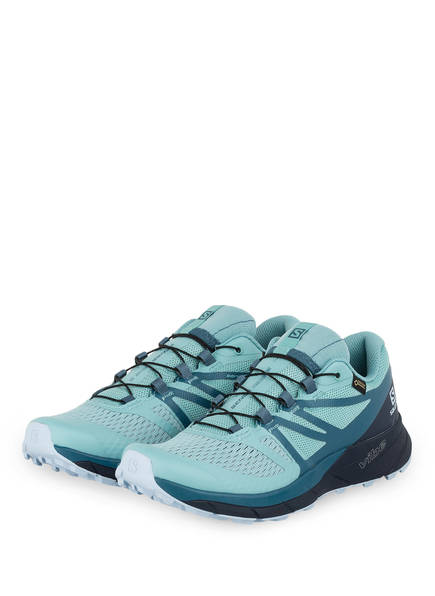 SALOMON Trailrunning-Schuhe SENSE RIDE 2 GTX, Farbe: MINT (Bild 1)