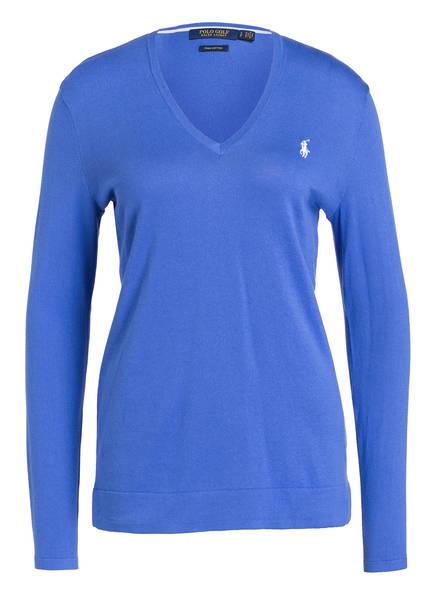 POLO GOLF RALPH LAUREN Pullover mit UV-Schutz 25+, Farbe: BLAU (Bild 1)