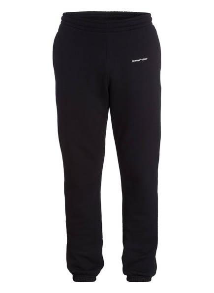 OFF-WHITE Hose im Jogging-Stil, Farbe: SCHWARZ (Bild 1)