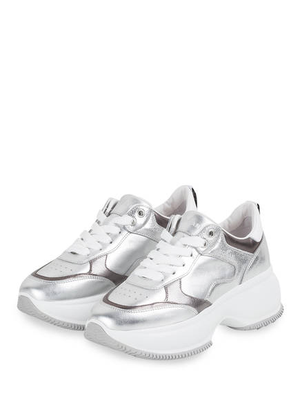 HOGAN Plateau-Sneaker , Farbe: SILBER (Bild 1)