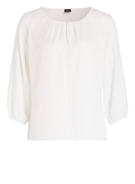 s.Oliver BLACK LABEL Bluse mit 3/4-Arm, Farbe: WEISS (Bild 1)