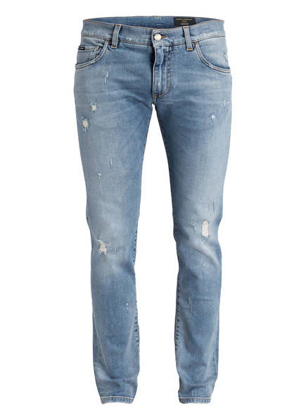 DOLCE&GABBANA Jeans Slim Fit, Farbe: LIGHT BLUE (Bild 1)