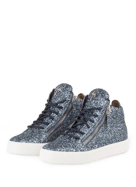 GIUSEPPE ZANOTTI DESIGN Hightop-Sneaker , Farbe: HELLBLAU (Bild 1)