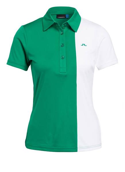 J.LINDEBERG Funktions-Poloshirt , Farbe: GRÜN/ WEISS (Bild 1)