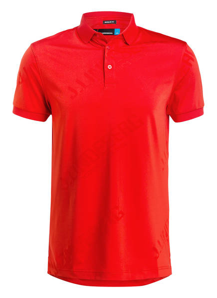 J.LINDEBERG Poloshirt CALEB Regular Fit, Farbe: ROT (Bild 1)