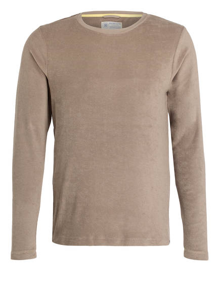 DSTREZZED Langarmshirt, Farbe: HELLBRAUN (Bild 1)