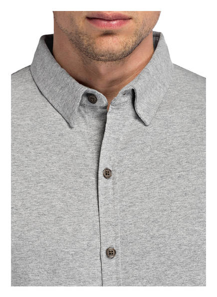 Jersey Meliert Fit Slim hemd Grau Dstrezzed 4S7q8aw