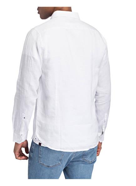 DSTREZZED Dstrezzed Leinenhemd Slim Fit weiss
