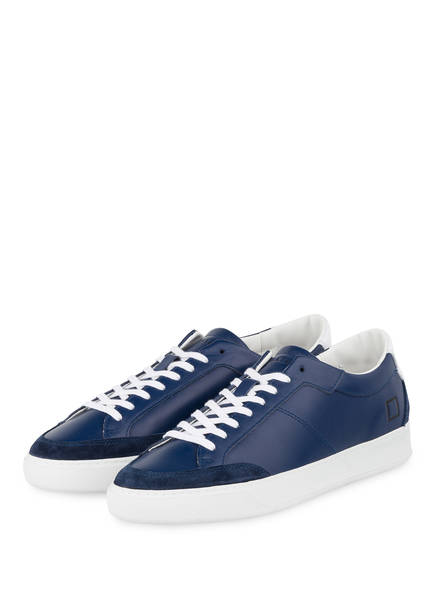 D.A.T.E. Sneaker JET NAPPA, Farbe: BLAU (Bild 1)