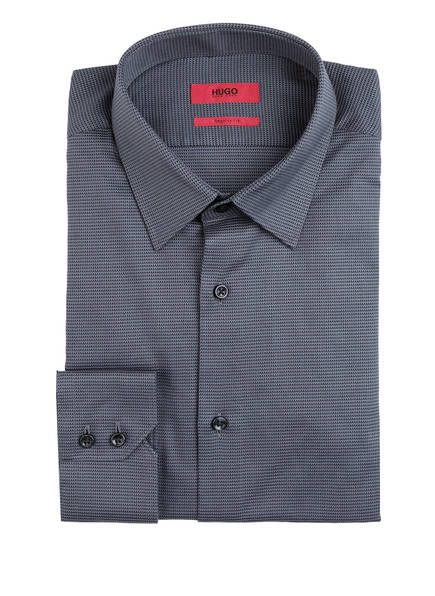 HUGO Hemd VENZO Regular Fit, Farbe: DUNKELGRAU (Bild 1)