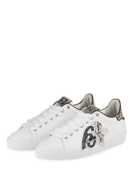 Högl Sneaker, Farbe: WEISS/ SCHWARZ (Bild 1)