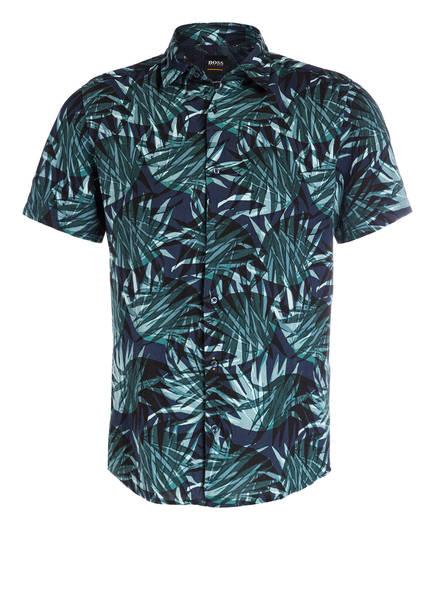 BOSS Halbarm-Hemd RASH Regular Fit , Farbe: GRÜN/ DUNKELBLAU (Bild 1)
