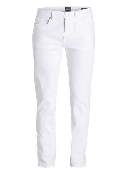 BOSS Jeans TABER Tapered Fit, Farbe: WEISS (Bild 1)