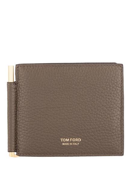 TOM FORD Kartenetui mit Geldklammer, Farbe: BRAUN (Bild 1)