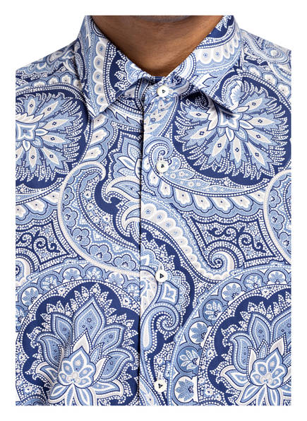 Weiss Hellblau Tailored Van Laack Dunkelblau Hemd Fit HqYq1O