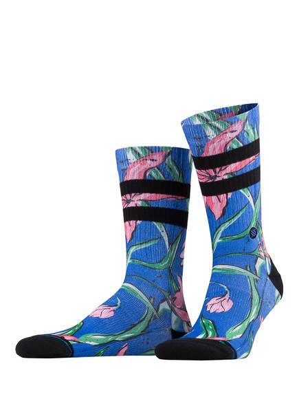 STANCE Socken WAIPOUA, Farbe: BLAU/ PINK (Bild 1)