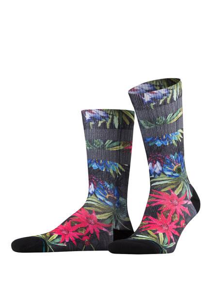 STANCE Socken MONTEVERDE, Farbe: SCHWARZ/ BLAU/ PINK (Bild 1)