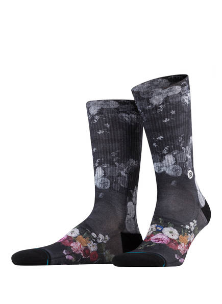 STANCE Socken MARIE, Farbe: SCHWARZ/ GRAU/ ROSA (Bild 1)