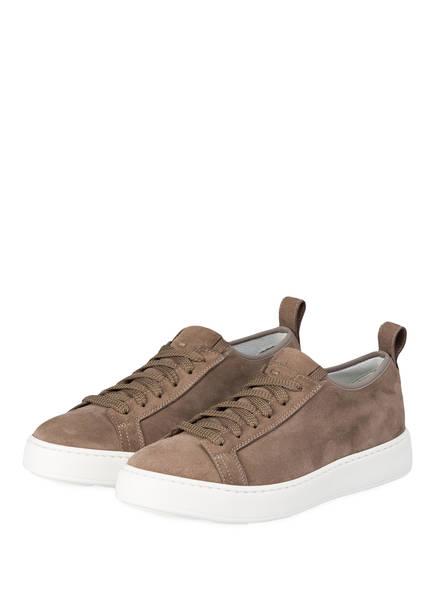 Santoni Plateau- Sneaker , Farbe: BRAUN (Bild 1)