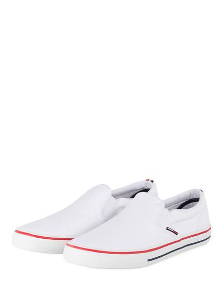 TOMMY JEANS Slip-on-Sneaker, Farbe: WEISS (Bild 1)