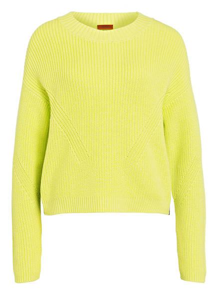 HUGO Pullover SIDINA, Farbe: GELB (Bild 1)