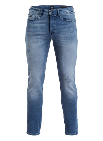 BOSS Jeans DELAWARE Slim Fit, Farbe: 423 MEDIUM BLUE (Bild 1)