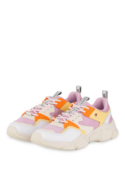 TOMMY HILFIGER Chunky Sneaker, Farbe: HELLLILA/ GELB/ CREME (Bild 1)