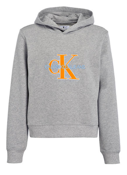 Calvin Klein Hoodie , Farbe: GRAU MELIERT (Bild 1)