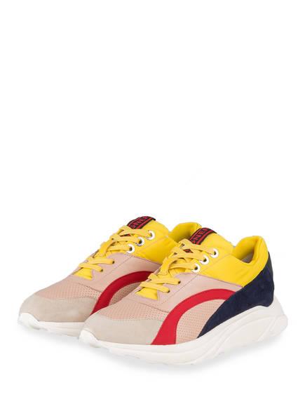 BOGNER Sneaker MALAGA, Farbe: ROSÉ/ GELB/ DUNKELBLAU (Bild 1)