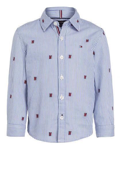 TOMMY HILFIGER Hemd, Farbe: BLAU/ WEISS GESTREIFT (Bild 1)