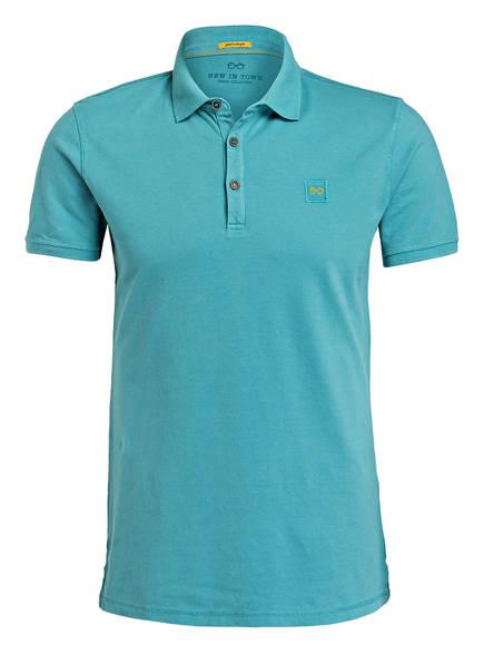 NEW IN TOWN Piqué-Poloshirt, Farbe: MINT (Bild 1)