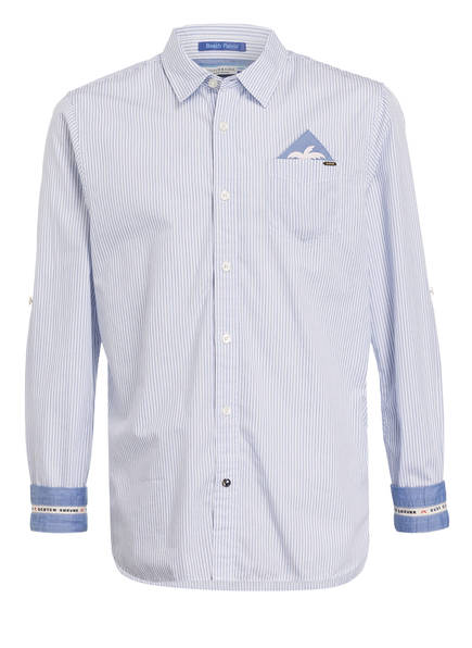 SCOTCH SHRUNK Hemd Regular Fit, Farbe: WEISS/ BLAU (Bild 1)
