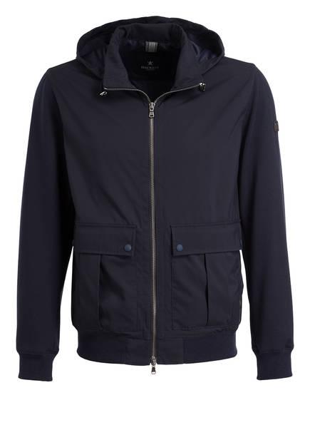 HACKETT LONDON Jacke im Materialmix, Farbe: NAVY (Bild 1)