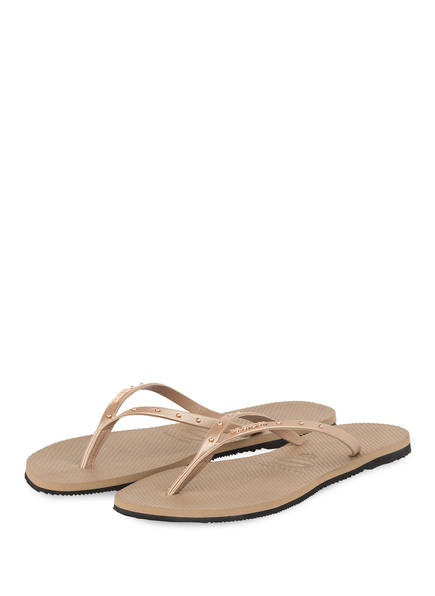 havaianas Zehentrenner YOU MAXI, Farbe: ROSEGOLD (Bild 1)