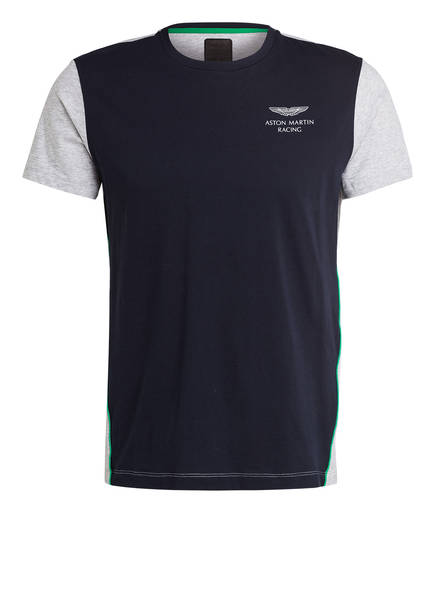 HACKETT LONDON T-Shirt, Farbe: DUNKELBLAU/ GRAU (Bild 1)